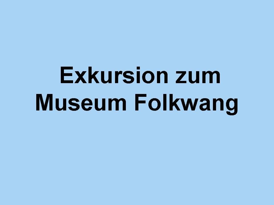 Führung durch die Ständige Ausstellung des Museum Folkwang in Essen