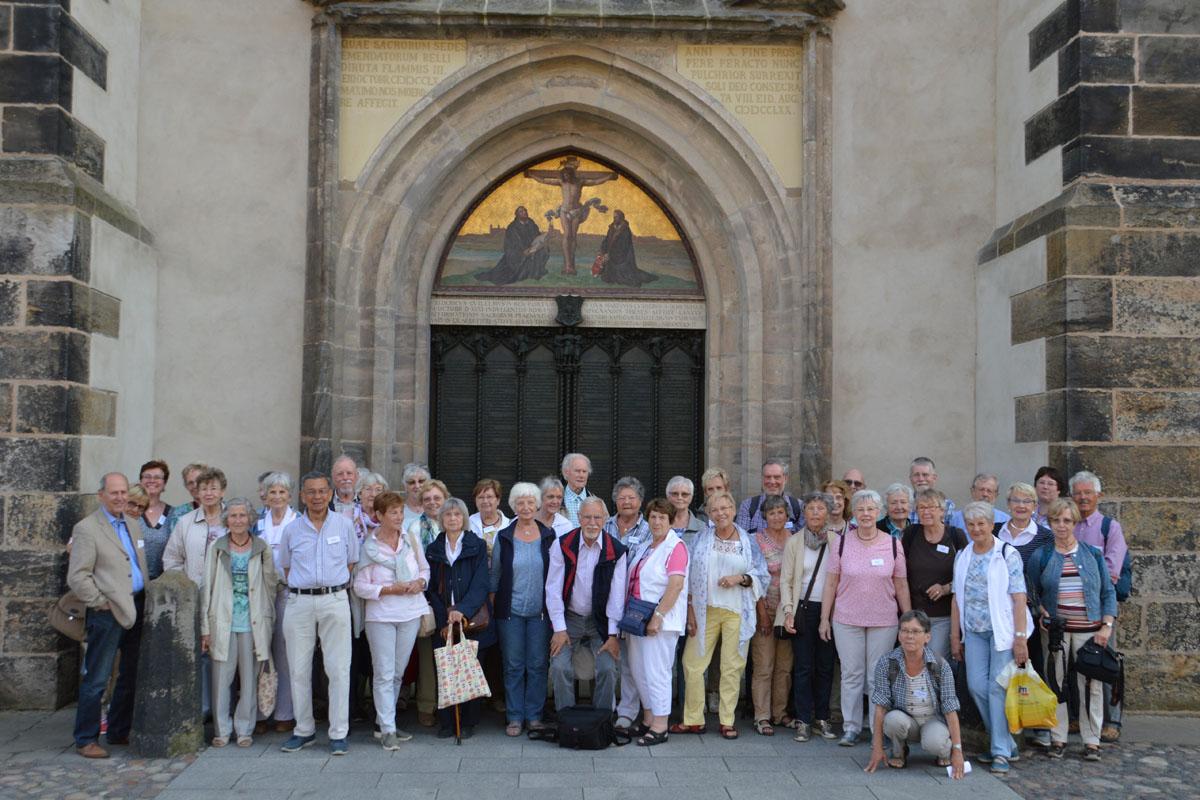 Kurzbericht: Studienreise zu Stätten der Reformation in Thüringen und Sachsen-Anhalt