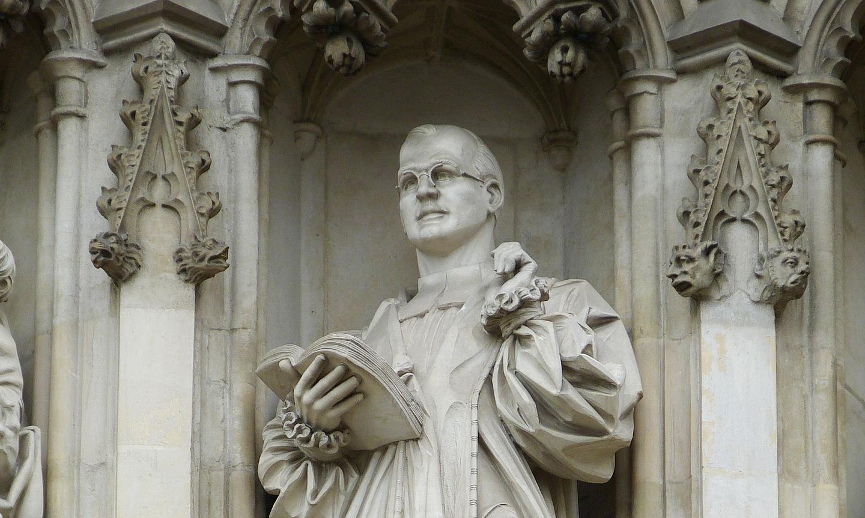 Lesung und Musik zum Bonhoeffer-Gedenken »Der leidende Gott«